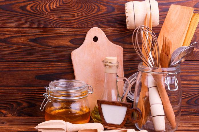 Dřevo vkuchyni